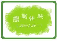 農業体験ロゴ